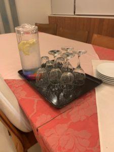 お祝い膳 グラス