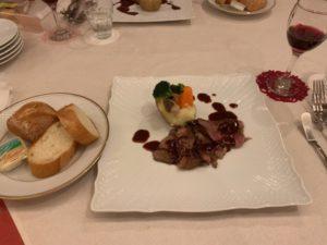 お祝い膳 肉料理